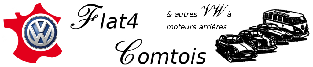 Flat4 Comtois (et autres vw à moteur arrière)
