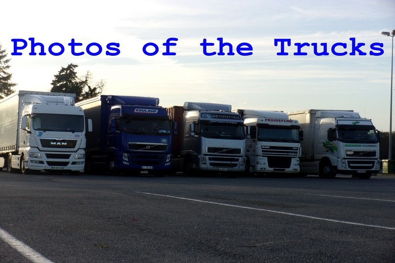 Photos of the Trucks