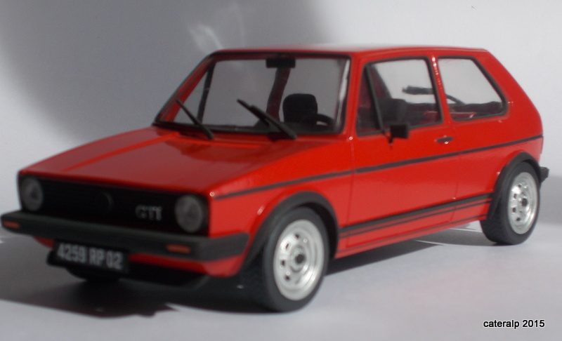 revell volkswagen golf gti s rie 1. Black Bedroom Furniture Sets. Home Design Ideas