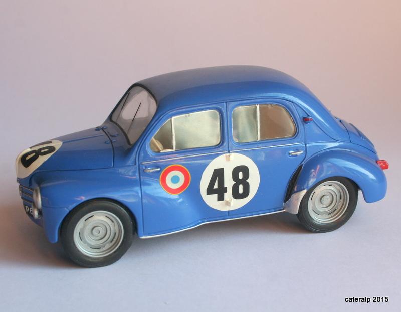 renault 4cv le mans 1950