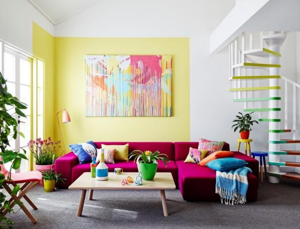 Chambre d 39 enfant 70s style futuriste joyeuse ludique for Chambre 70 s