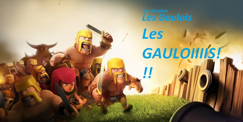 Les gaulois de clash of clans