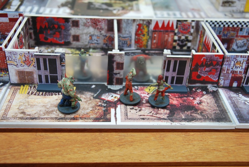 Zombicide 3d extension toxic mall for Puertas 3d zombicide