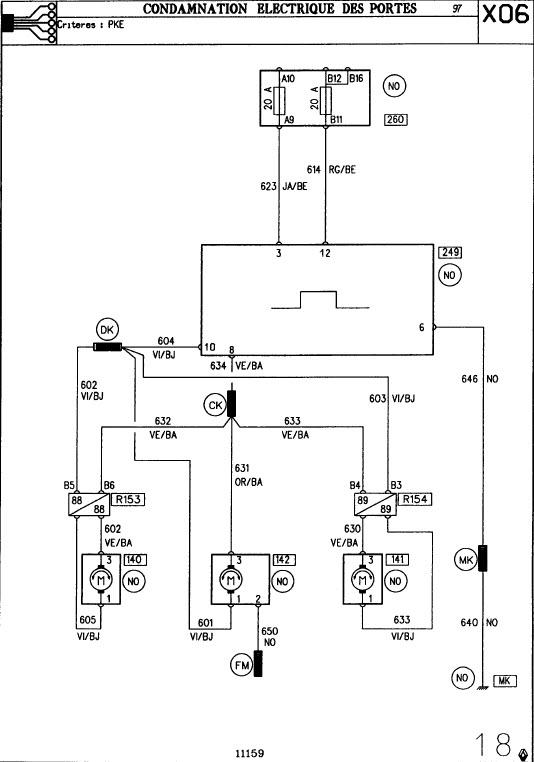 twingo 1997 elite remplacer la centralisation ir par un hz universelle renault m canique. Black Bedroom Furniture Sets. Home Design Ideas