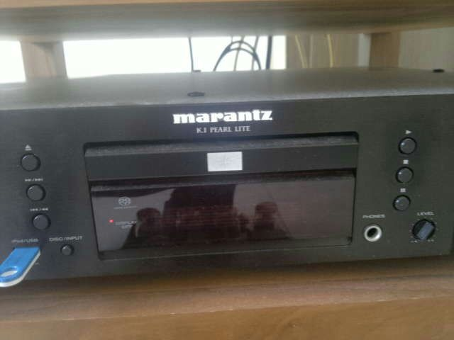 marantz sa ki pearl lite cd player used. Black Bedroom Furniture Sets. Home Design Ideas