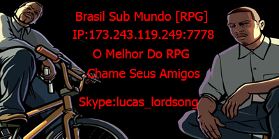 Brasil Sub Mundo [RPG]