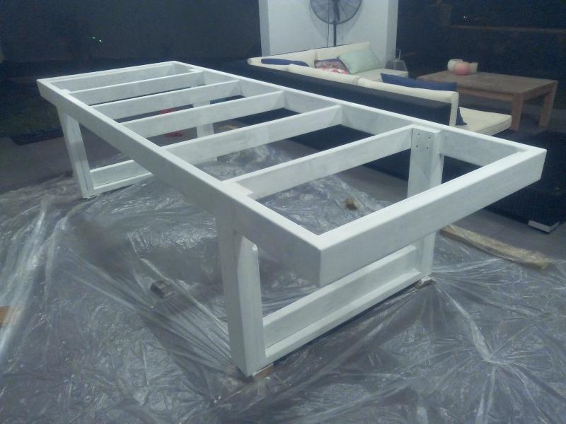 rallonge de table de combinee termine fabrication table en bois peint polycarbonate pour. Black Bedroom Furniture Sets. Home Design Ideas