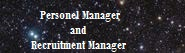 Personel Manager & Recruitment Manager